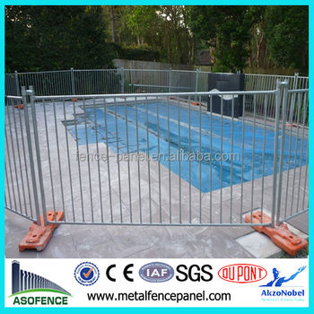 Merveilleux Portable Galvanized Child Safety Pool Fence