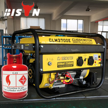 CLASSIC CHINA 6KW Propane Generator, Copper Wire 100% Emergency Generators Electric Backup, Gas Portable Generator Power