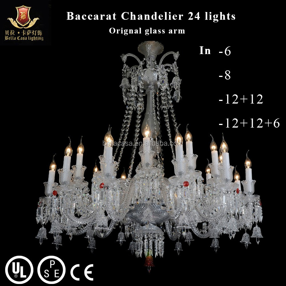 24 Lights Baccarat Chandelier Finished In Clear Crystal - Buy Baccarat Chandelier CrystalChandelier CrystalsBaccarat Chandelier Product on Alibaba.com  sc 1 st  Alibaba & 24 Lights Baccarat Chandelier Finished In Clear Crystal - Buy ...