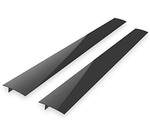 Kohzie Stove Counter Gap Cover - Set of 2 Extra Clear - Stove Gap, Gap cap for stoves - High Pure Silicone Space Fillers