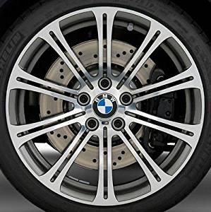"BMW Brand OEM Genuine E90 E92 E93 Forged Style 220 19"" M3 Dual Spoke Wheels Rims"
