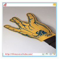 2016 custom foam finger for any promotion Campaign and schools