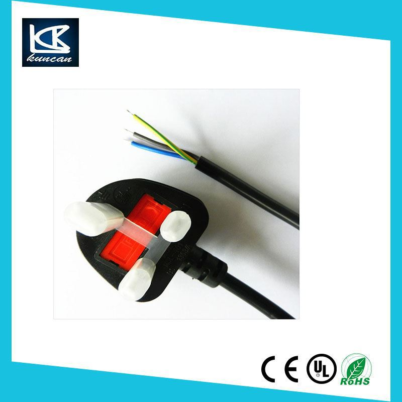 Uk Power Charging Cable For Home Appliance Bs1363 13a Fused ...