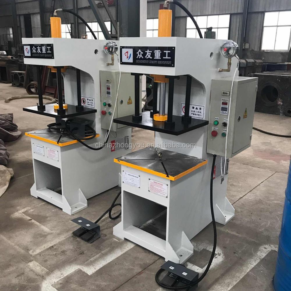 Workshop Use C Frame Type Hydraulic Press Machine For Bearing Bushings -  Buy C Frame Hydraulic Press Machine,C Type Hydraulic Press Machine,Workshop