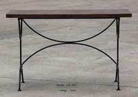 Triumph Marais Wooden Top Bar Table/Antique Wooden Restaurant Furniture/ unique bar table furniture