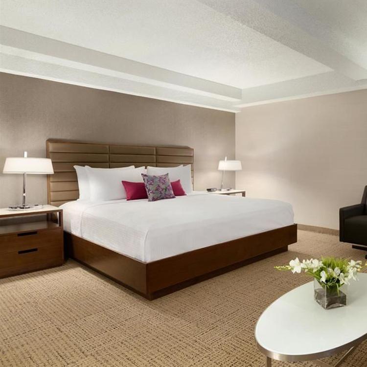 حار بيع ديلوكس تصميم جناح غرفة نوم مجموعة الأثاث سرير الفندق مجموعة