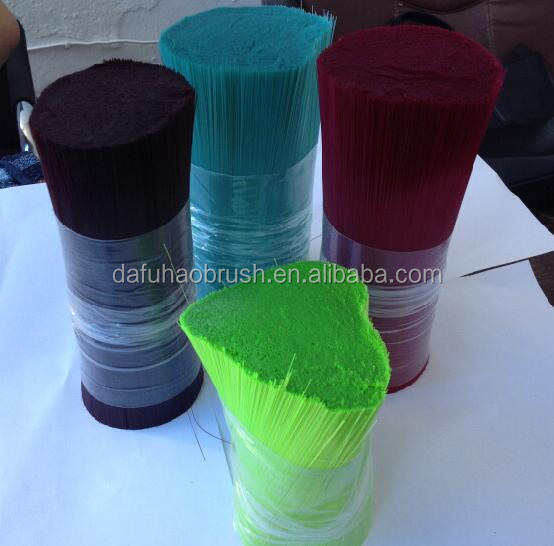 for brush solid hollow tapered monofilament pet pbt polyester synthetic fiber brush filament
