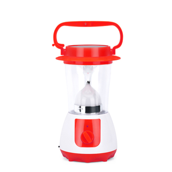 multifunction rechargeable led camping solar lantern with handheld