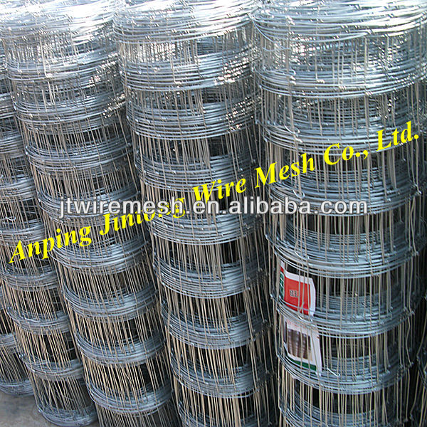 Woven Wire Fence/goat Sheep Fence/cattle Field Fence - Buy Metal ...