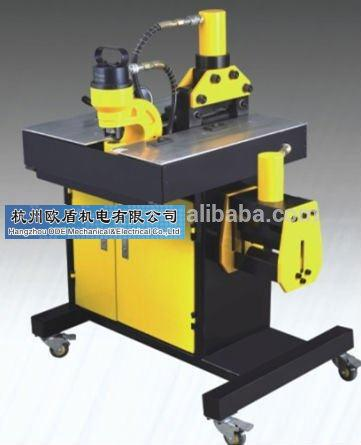 Three-in-one busbar processors, busbar tools, busbar machine, power tools, hydraulic press HHM-150H, 200H