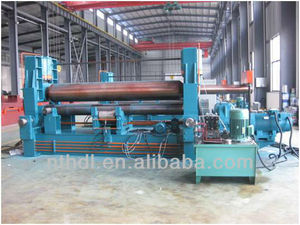 3 Roll Universal Steel Pipe Coiling Machine