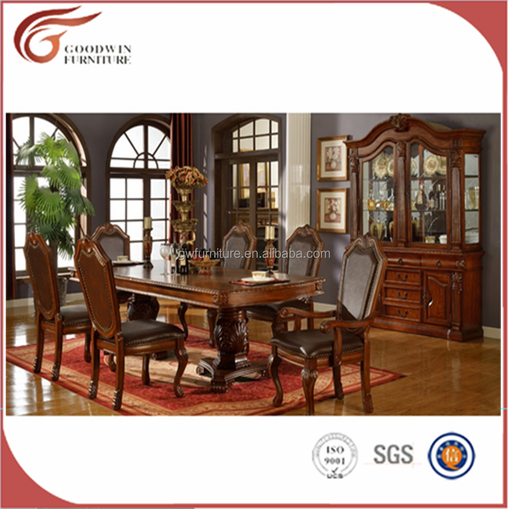 Wa171 Gothic Style Dining Table And Chair - Buy Gothic Style Dining Table  And Chair,Harmony Dining Table And Chair,Distressed Oak Dining Table  Product ...