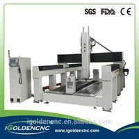Jinan 3D Scanner CNC Foam Cutting Machine CNC Router1325/ 1530 /2030CNC Machine with Big Rotary