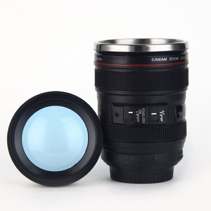 ZOGIFTManufacturers Camera Lens Coffee Tea Mug/Insulated Thermo Lens Cup/Lens Style Camera Lens Stainless Steel