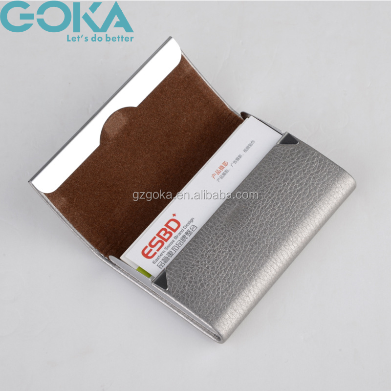 Promotion Pu Leather Credit Card/business Card/id/atm Card Holders ...