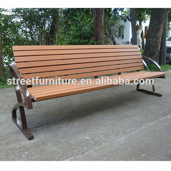Pleasant Recycled Plastic Slats Outdoor Street Furniture Bench With Backrest Buy Outdoor Street Furniture Outdoor Furniture Bench Outdoor Wooden Furniture Pabps2019 Chair Design Images Pabps2019Com