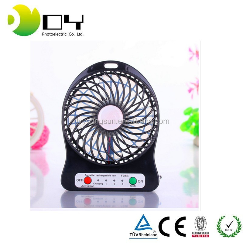 Portable Body Fans : Made in china abs plastic body portable mini fan cooling