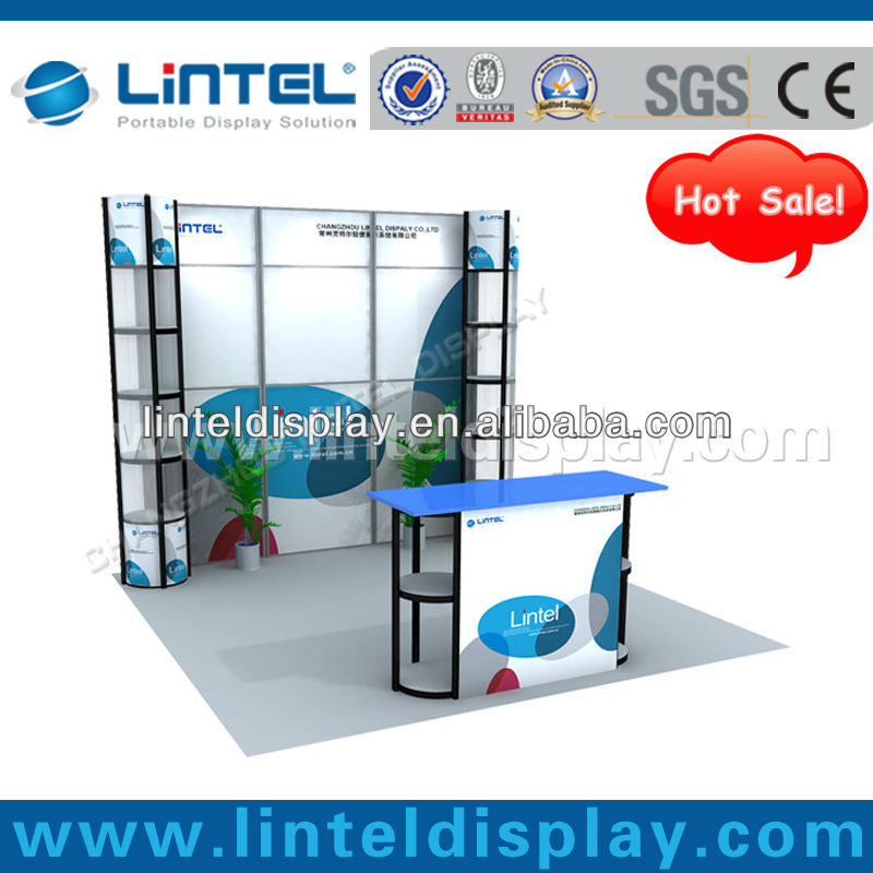 ' * 10'ft portable réutilisable twister booth salon affichage booth