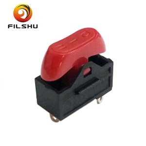 electrical red rocker switch 16a 125v 16a 250v for hair dryer