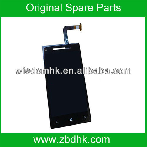 New For HTC Windows Phone 8X Zenith LCD Display screen Touch Screen Digitizer Assembly