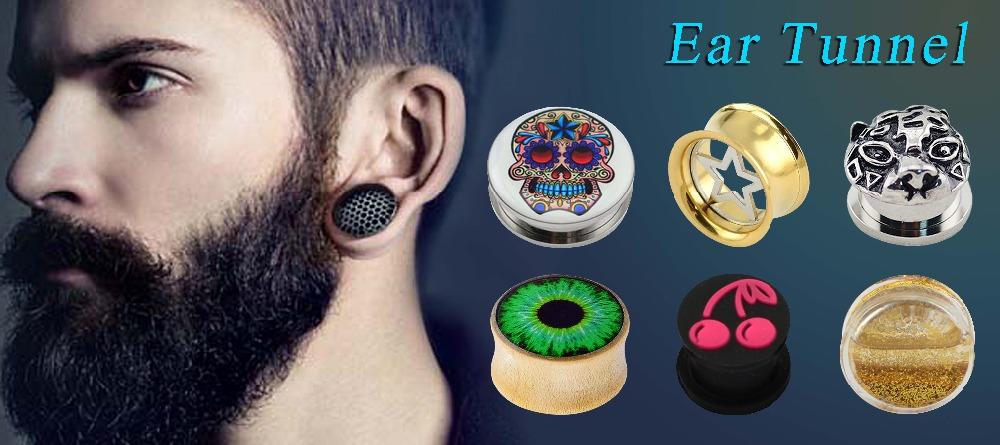 Crystal Wood Piercing Jewelry Diamond Flesh Tunnel Buy Diamond Flesh Tunnel Tunnel Wood Wood Jewelry Product On Alibaba Com
