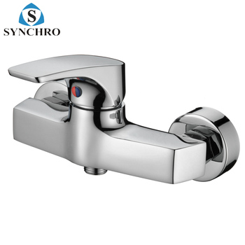 Skl 33313 Wall Mounted Chrome Plating Brass Bath Shower Faucet Buy Surface Mounted Shower Faucet Artistic Brass Shower Faucets Exposed Wall Mounted
