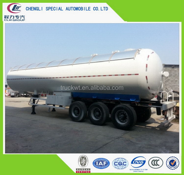 Quality and quantity assured newly design super quality lpg bottle trailer