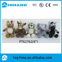 plush animal group toy/stuffed cute animal promotional gift/valentines gift promotional stuffed decoration animal