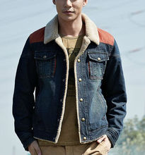 D90074P 2013 nuevos <span class=keywords><strong>hombres</strong></span> VINTAGE DENIM COAT