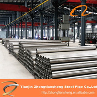 galvanzied pipe / natural gas steel pipe manufacturing company