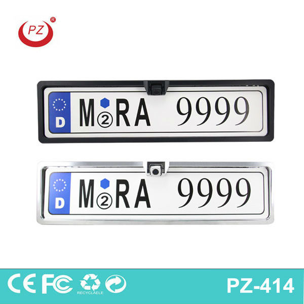 waterproof euro rearview number plate camera for car safety parking