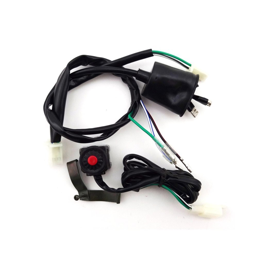 Buy Tc Motor Wiring Loom Harness Kill Stop Switch For Chinese 50cc Engine 70cc 90cc 110cc