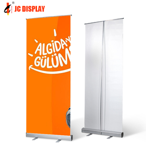 Pop Customized Aluminum Double Side Roll Up Banner