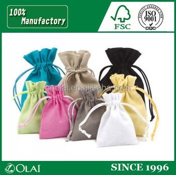 Custom premium small hemp bags wholesale,hemp gift bags