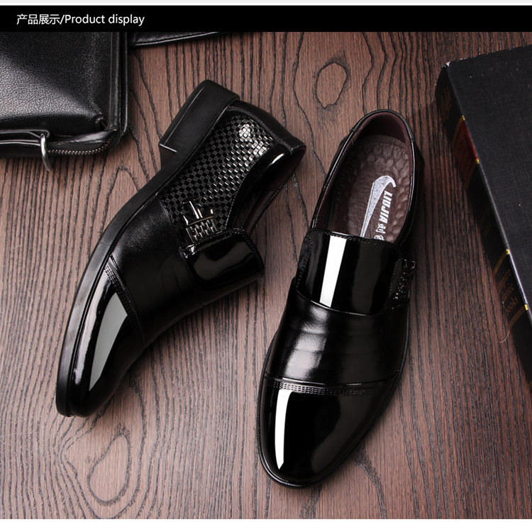 2017 shoes suppliers China square toe italian dress leather wholesale trade assurance formal shoes men