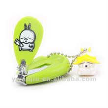 Supply fashion plastic cute finger nail clippers mix wholesale