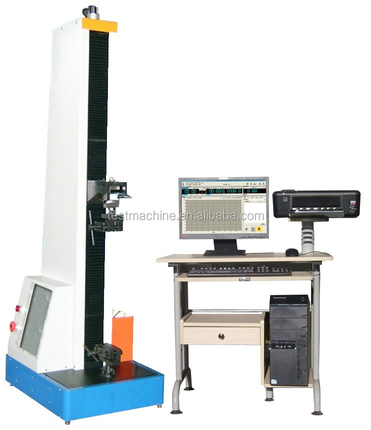 Rubber Elongation Tensile Strength Testing Instrument