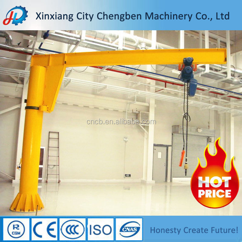 China Manufacturer 360 Degree Rotate Swing Pillar Jib Crane With ...