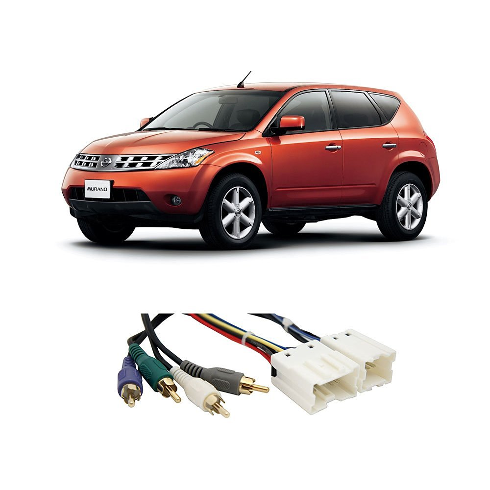 Fits Nissan Murano 03-07 (Premium Sound) Factory to Aftermarket Radio Harness