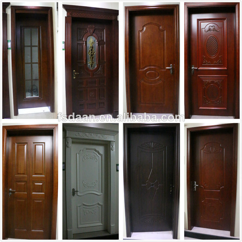 Puertas interiores de madera con vidrio for Puertas en madera para interiores