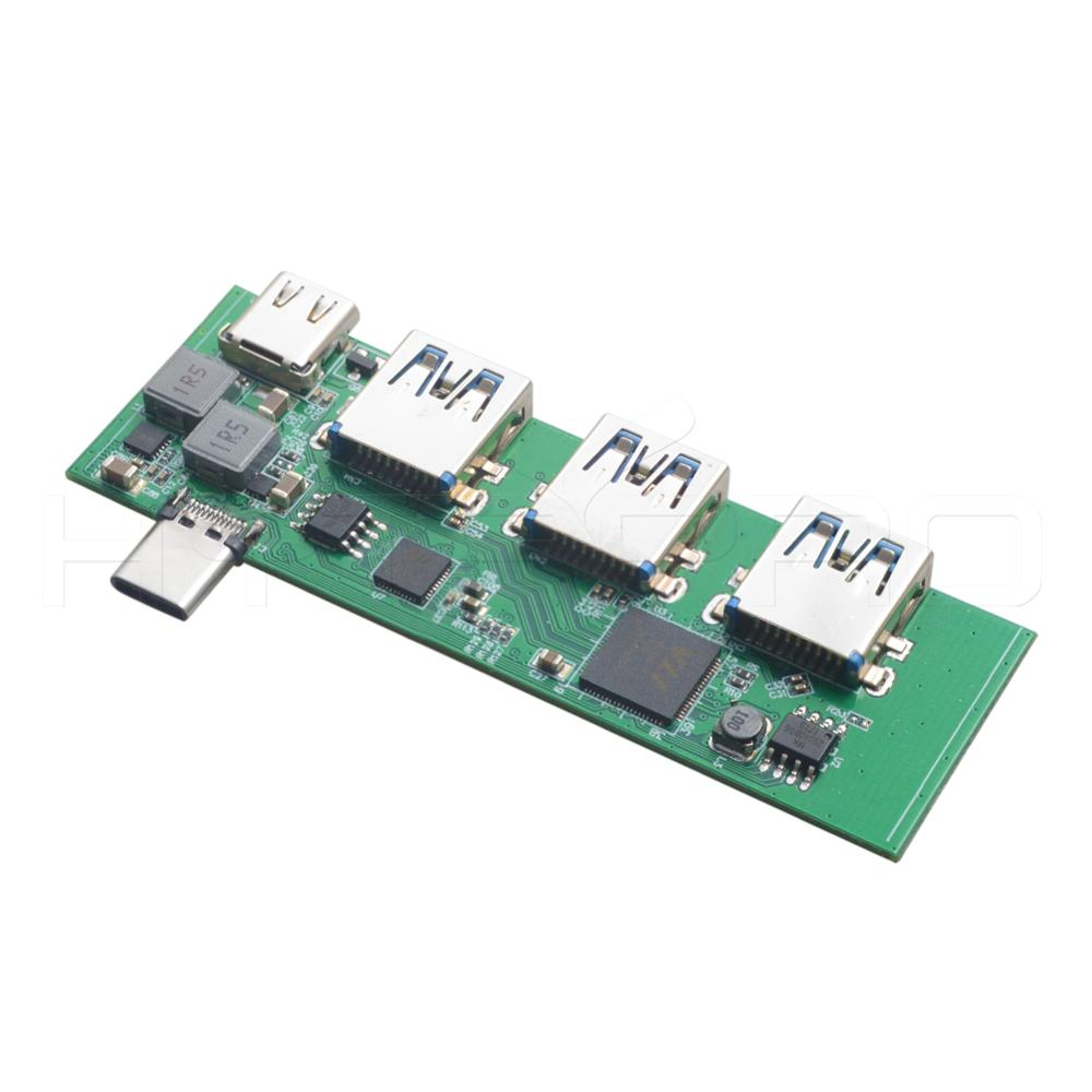 Pcb manufacturing and assembly 2 3 4 port Usb 2.0 3.0 hub 4 6 8 layer circuit boards assembly PCBA