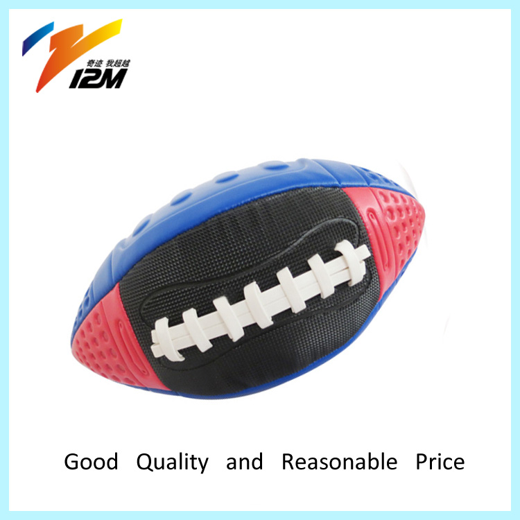 Cheap Logo Print F3 Rugby Ball Practice Rubber Ball
