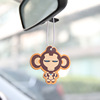 Promotional vent car air freshener hanging car shaped air freshener