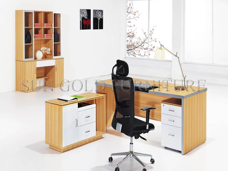 Modern Wooden Small Office Desk Table Design Secretary Sz