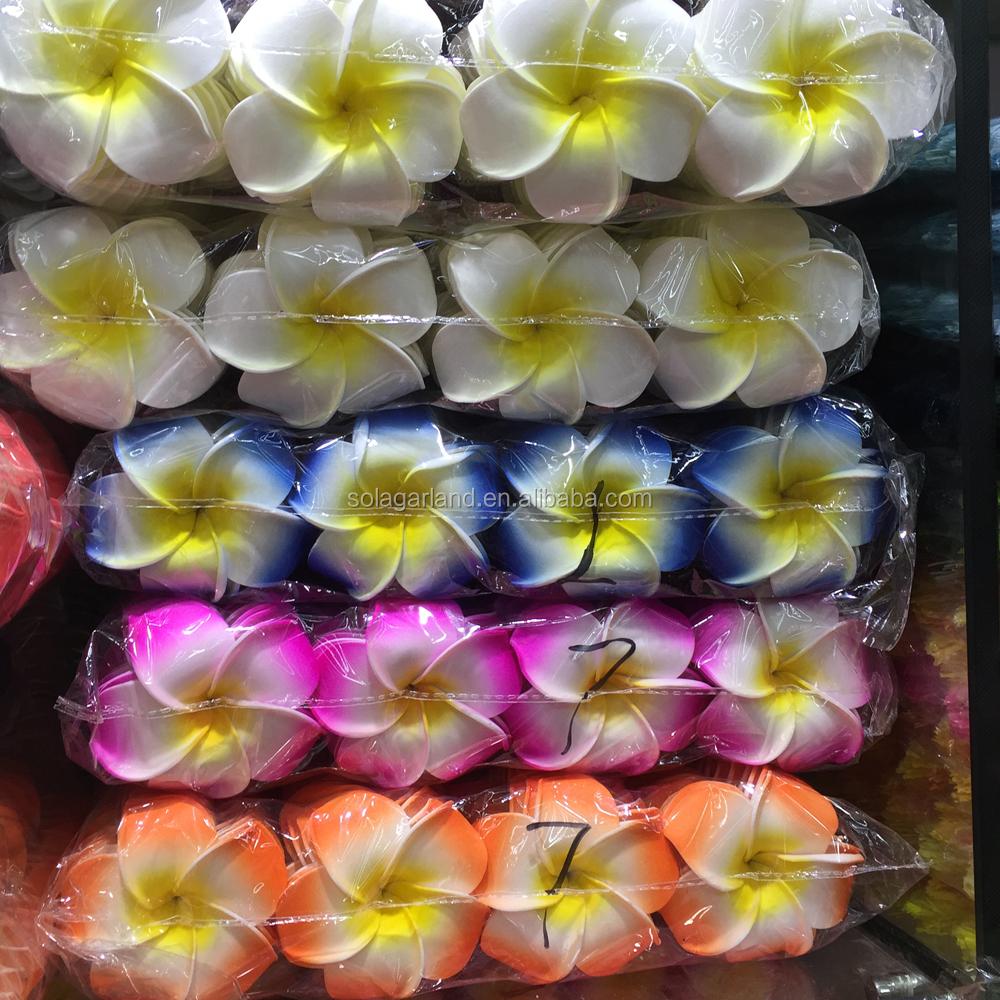Artificial Plumeria Frangipani Flowers Artificial Plumeria