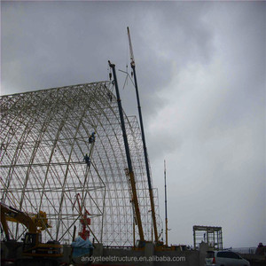 steel space frame with SGS inspection
