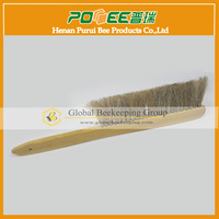 Beekeeping Tools honey bee 2 Raws Bamboo Handle Bee Brush For Beekeeper
