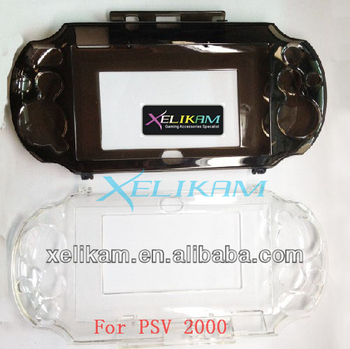 For Psv 2000 Crystal Cover Clear Hard Case Shell Protector For Ps Vita Psv  2000 Crystal Cover - Buy For Psv 2000 Crystal Cover,For Psv 2000 Crystal
