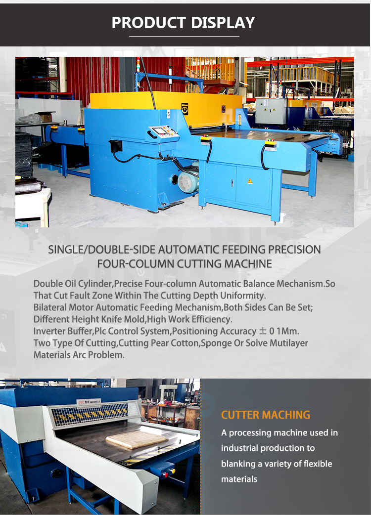 Automatic Precision Hydraulic Plastic Die Cutting press machine