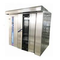 rotary rack oven , bakery equipment , bread baking machines